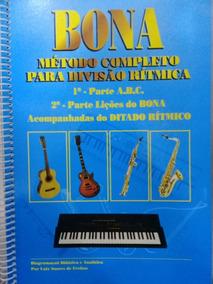 Bona Musical Metodo Completo Para Divisão Ritmica 3 Und