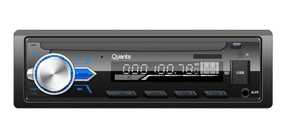 Toca Rádio Quanta Qtrra71 Usb/bt/sd/aux/lcd Preto Promoção