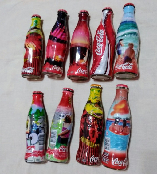 Botellas Coca Cola Lote X 9