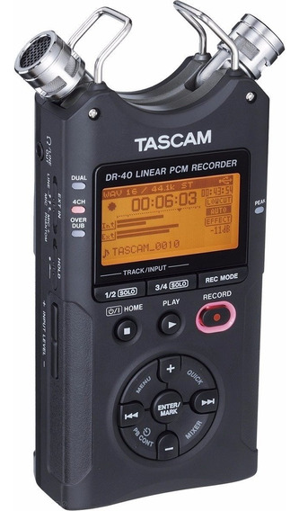 Gravador Digital Tascam Dr40