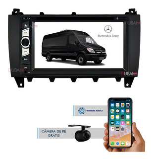 Central Multimídia Dvd Mercedes Sprinter 2016 2017 2018 2019