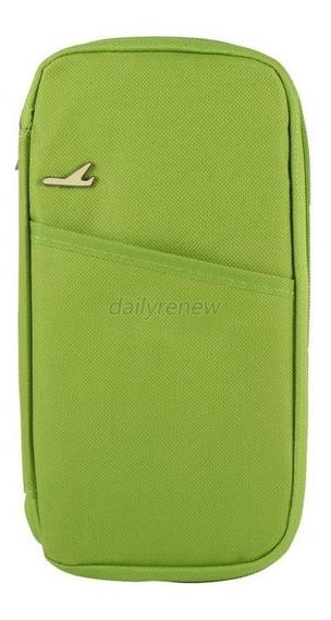 Porta Pasaporte Organizador Documentos Viaje Ticket Nuevo