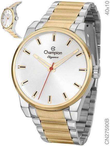 Relógio Champion Feminino Bicolor Cn27590b