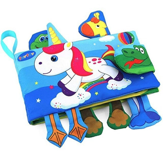 Teytoy Libro Actividades Bebé + Diseño Animales Niños Y Beb