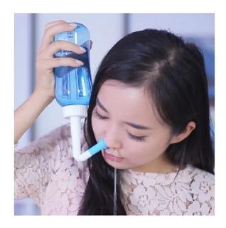 Lavador Higienizador Nasal Plastico Caseiro Rinite Sinusite