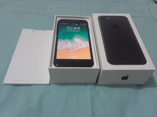 iPhone 7 De 32gb Negro Mate Cun Su Caja Y Accesorios