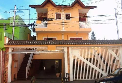 Sobrado A Venda No Bairro Vila Rosália Em Guarulhos - Sp.  - 1161-1