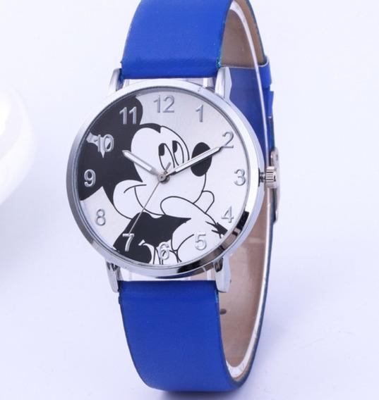 Reloj Mujer Mickey Mouse Minnie Precio Mayoreo