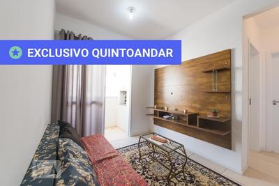 Apartamento No 2º Andar Mobiliado Com 2 Dormitórios E 1 Garagem - Id: 892906134 - 206134
