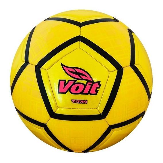 Balón De Fútbol Soccer No. 5 Titán 78317 Amarillo Voit