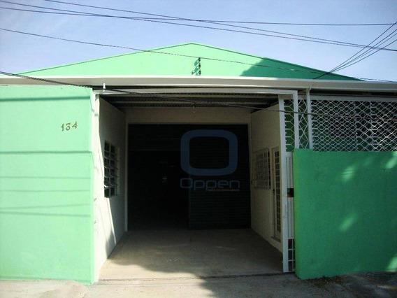 Barracão Comercial Para Locação, Jardim Eulina, Campinas. - Ba0023