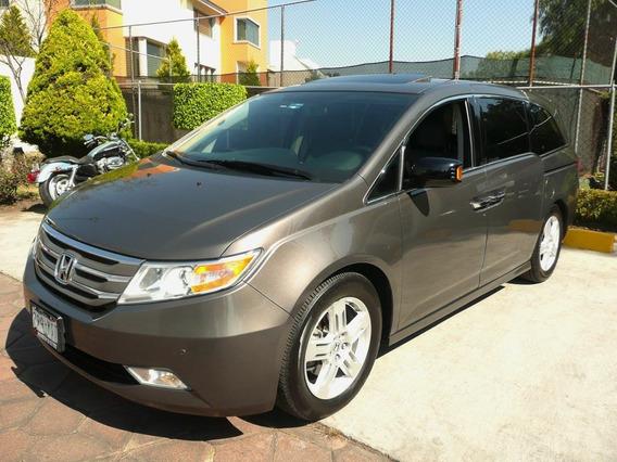 Honda Odyssey 2013 Touring Minivan Aut. Piel Cd Q/c Dvd