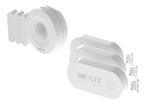 Imagen 1 de 6 de Kit Alarma Sensor Movimiento Nexxt Smart Wifi Ahbsnmo4u1