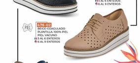 Flats Casual P/dama Cklass Urban 476-02 Piel Pv-2019