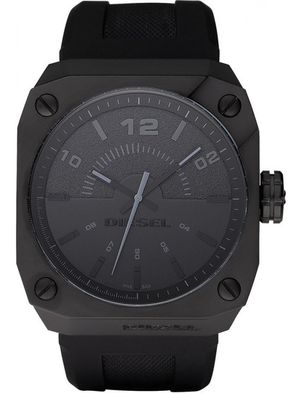 Relógio De Pulso Diesel Original Dz 1433 Pulseira Silicone