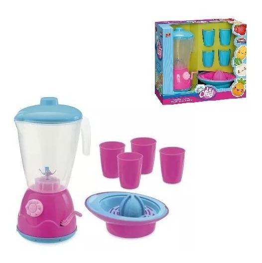 Kit Liquidificador Infantil Vários Acessórios Brinquedos