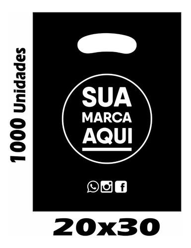 Sacolas Plásticas Personalizadas 20x30 1000 Un Promoção