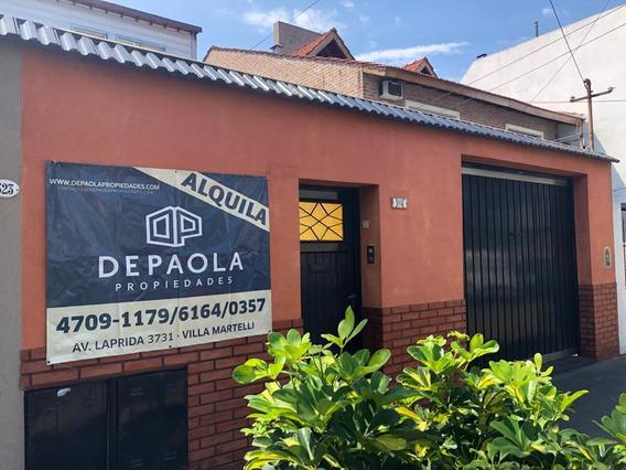 Alquiler Ph Amoblado 3 / 4 Ambientes Villa Martelli Cochera