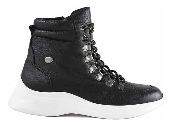 Zapatilla Mujer Cuero Briganti Zapato Bota Moda Mczp05281