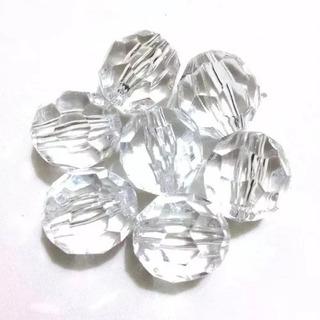 Pedrarias Cristal Facetado Acrílico 500gr 12mm Melhor Preço