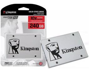 Kit Ssd 240 Gb Kingston + Caddy Segundo Hd Apple Macbook Pro