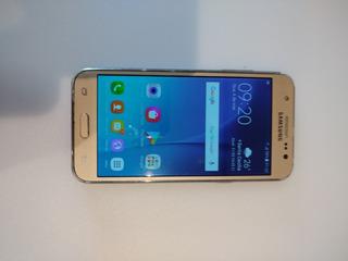 Celular Samsung J5 Dourado Apar Para Uso Ou Retirada De Peça