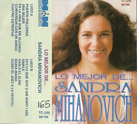 Sandra Mihanovich Album Lo Mejor De Sello M&m Cassette
