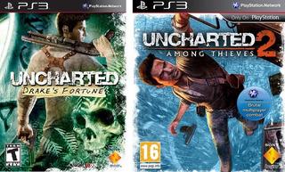 Uncharted Tesoro Drake +uncharted Reino Ladrones Ps3