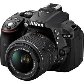 Nikon D5300 Kit 18-55mm Câmera Lojista Retirada Garantia 12m