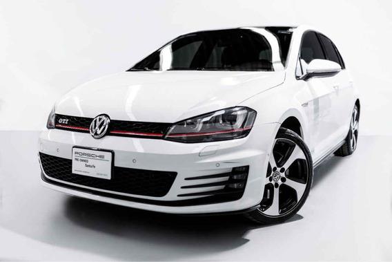 Volkswagen Golf 2016 Gti L4/2.0/t Piel Aut P3 A/e R18