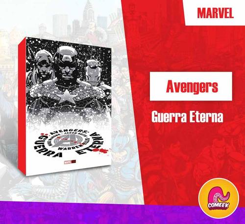 Comic Avengers Guerra Eterna Español Latino