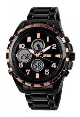 Relógio Masculino Skmei Anadigi 1021 Original