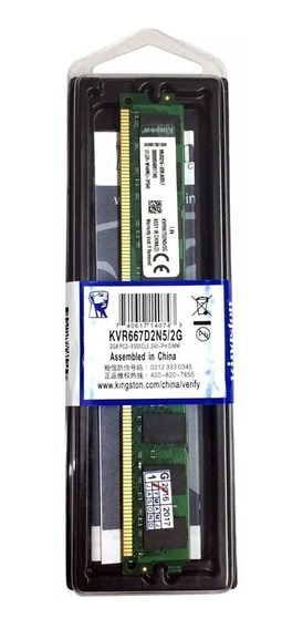 Kit 10 Pente Memória Kingston Ddr2 2gb 667mhz Pc2
