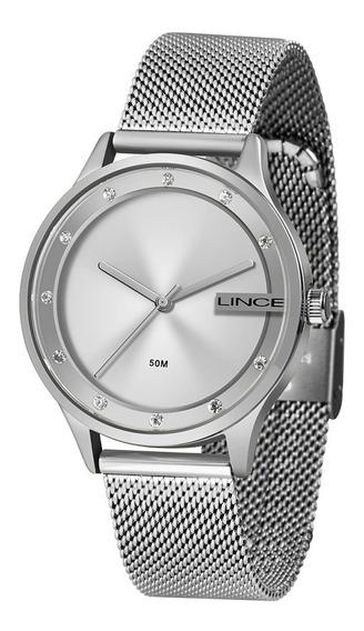 Relógio Feminino Lince Urban Prata Lrm4623l