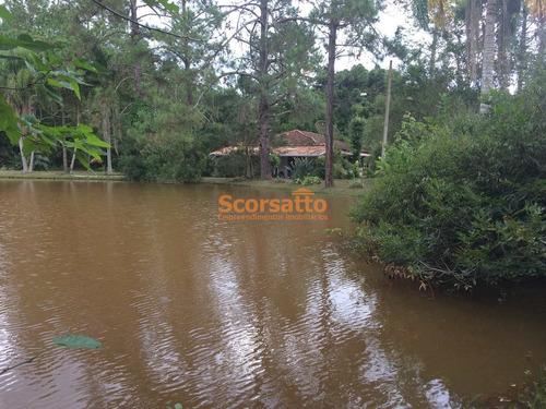 Chácara Com 4 Dorms, Potuverá, Itapecerica Da Serra - R$ 1.36 Mi, Cod: 4019 - V4019