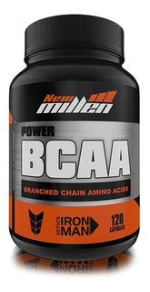 Bcaa Power Advanced Series 120 Cápsulas - New Millen