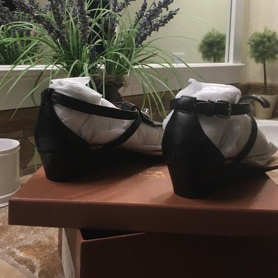 Sandalias Coach Dama Color Negro Regalo Navidad Zapato Mujer