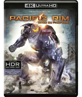 4k Ultra Hd + Blu-ray Pacific Rim / Titanes Del Pacifico
