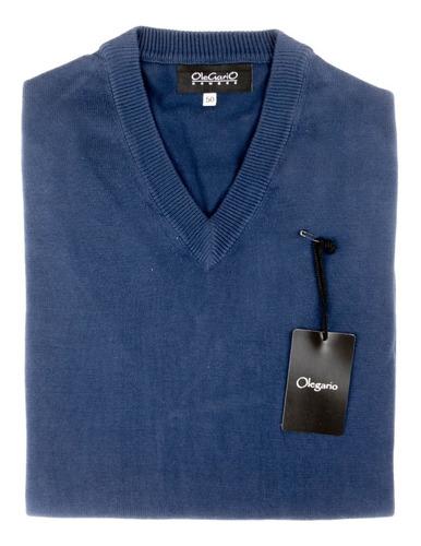 Sweater Hombre Hilo Olegario Oferta Varios Colores