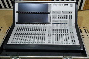 Mesa De Som Digital Soundcraft Vi1 32 Ch + Stagebox 32