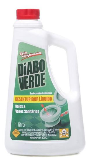 Desentupidor Liquido De Pias Ralos Vasos 1 Litro
