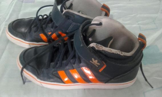 Zapatillas De Cuero Botitas adidas