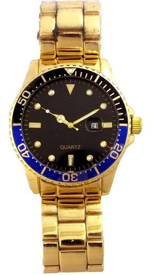 Oferta Relógio Pulso Masculino Quartz Pulseira Metal B5686