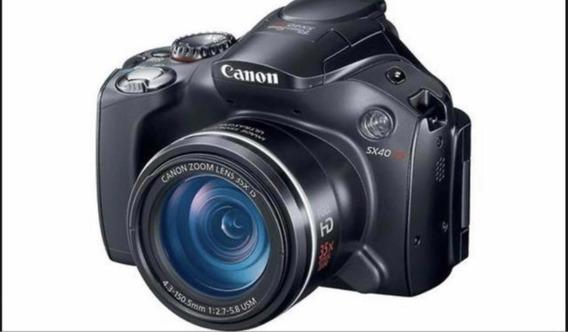 Canon Power Shot Sx 40 Hd Pc 1680 7.4 V- Semi-nova