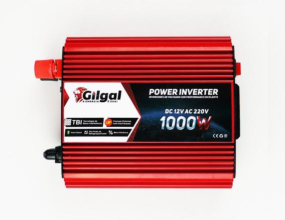 Inversor 1000w 12v P/ 220v Conversor Transformador Veicular
