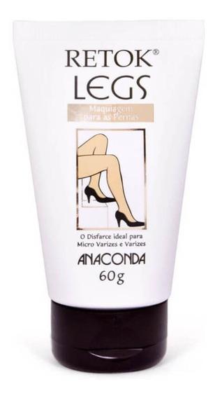 Anaconda Retok Legs Médio Maquiagem P/ Pernas 60g
