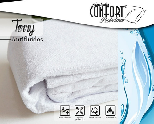 Protector Confort Colchon Antifluidos 2.00x2.00 X40