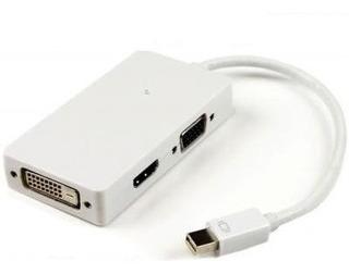 Adaptador Mini Display Porta A Hdmi Vga Dvi Macbook 1080p