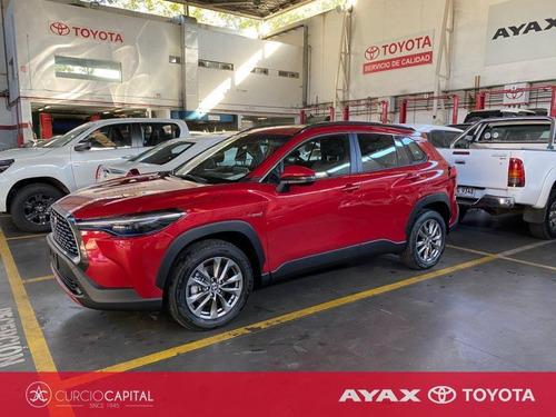 Toyota Corolla Cross Seg 2021 Rojo 0km