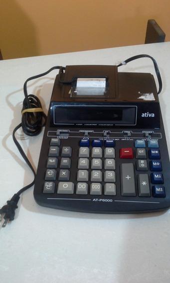Calculadora De Impressão Ativa At-p6000 120 Volts